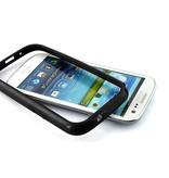 Пластико силиконовый бампер для Samsung Galaxy S3 i9300 Черный