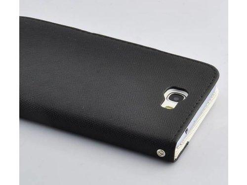 Ретро кошелек чехол для Samsung Galaxy Note 2 N7100 Черный