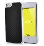 Прочный карбоновый чехол задняя крышка для iPhone 5/5s