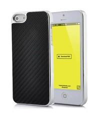 Карбоновая задняя крышка для iPhone 5/5s