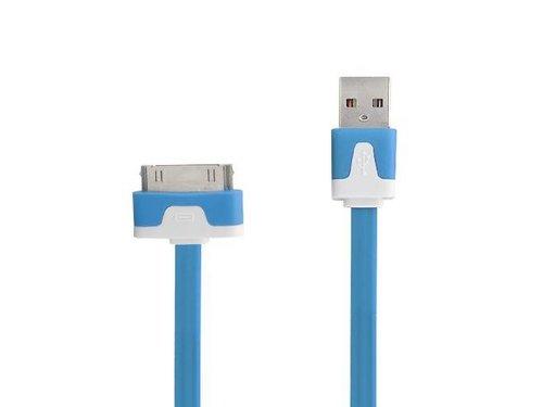 Высококачественный Apple кабель для iPhone 3GS, 4/4s, iPod, iPad Синий