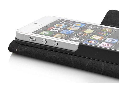 Кожаный чехол книжка ретро карта для iPhone 5/5s