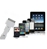 3-в-1 USB 2.0 кабель для iPhone, iPad, iPod, Micro USB, Mini USB