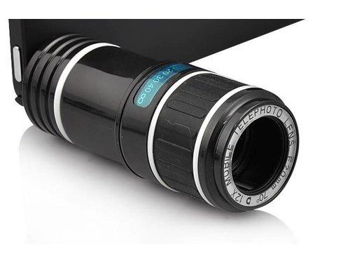 12-кратный объектив линза со штативом и чехлом для iPhone 5