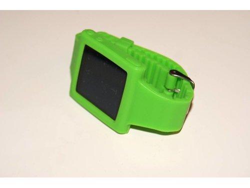 Зеленый силиконовый чехол часы Strap Case iPod 6G Nano
