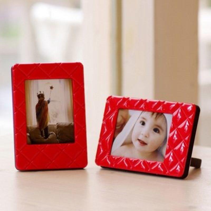 Мини рамка для снимка Fuji Instax Красная