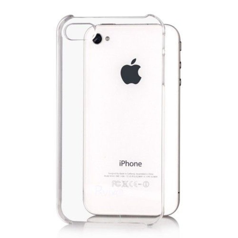 Прозрачная защитная крышка для iPhone 4/4s
