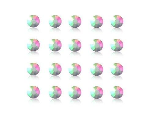 Кристаллы для украшения iPhone и Samsung Разноцветные 20 штук