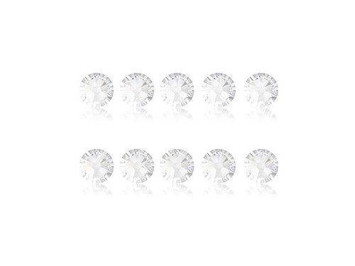 Кристаллы для украшения iPhone и Samsung Белые 10 штук