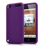 Силиконовая накладка для iPod Touch 5 Фиолетовый