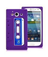 Чехол кассета для Samsung Galaxy S 3 i9300 Сиреневый