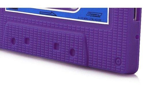 Силиконовая накладка кассета для Samsung Galaxy S 3 i9300 Сиреневая