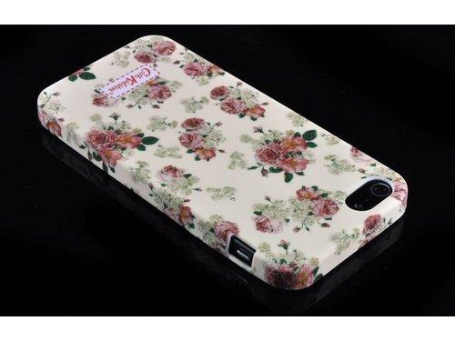 Чехол накладка Cath Kidston с цветами для iPhone 5/5s