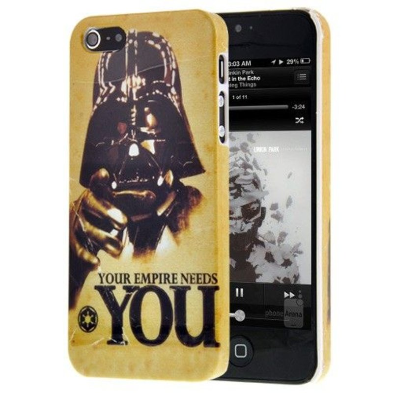 Задняя крышка Дарт Вейдер iPhone 5/5s