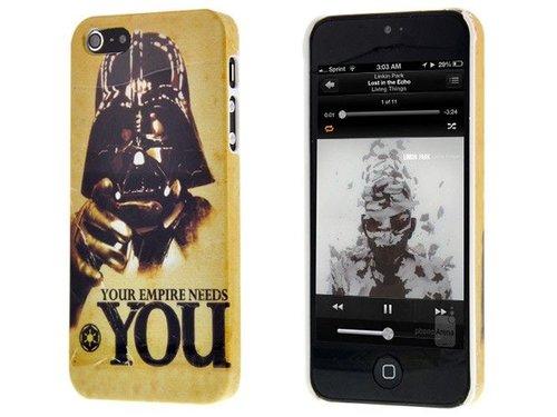 Оригинальная задняя крышка чехол для iPhone 5/5s Дарт Вейдер