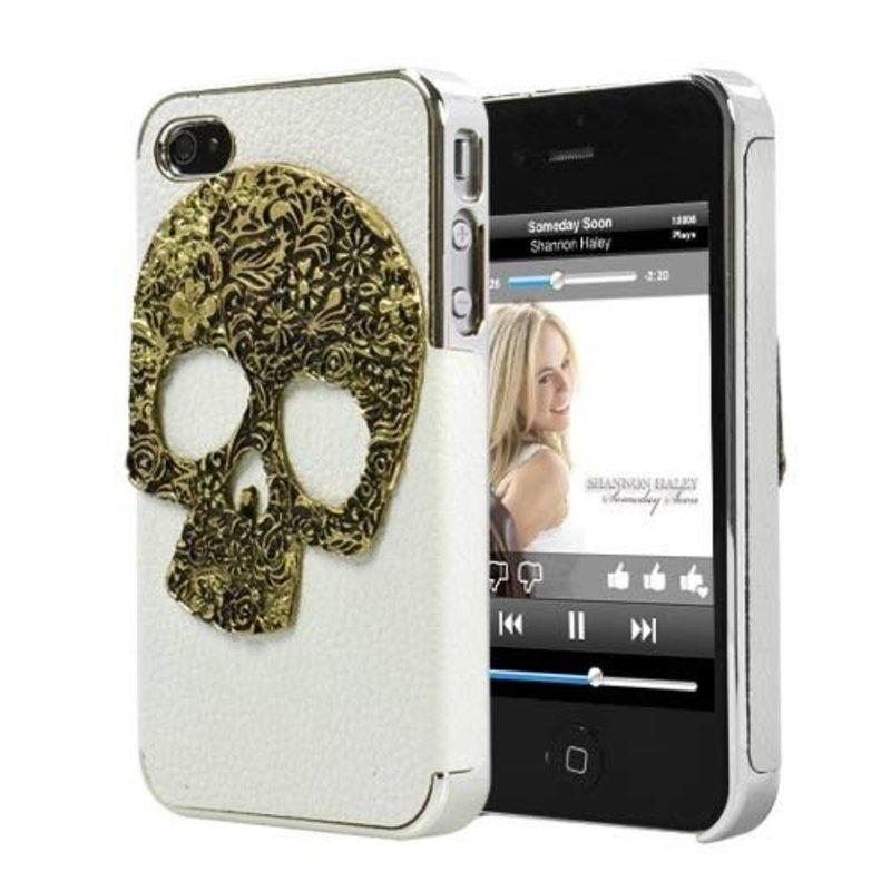 Задняя крышка для Череп для iPhone 4/4s