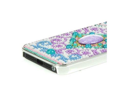 Задняя крышка iPhone 5/5s со стразами и камешками