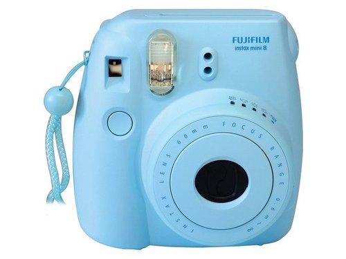 Fujifilm Instax Mini 8 пленочный фотоаппарат Голубой