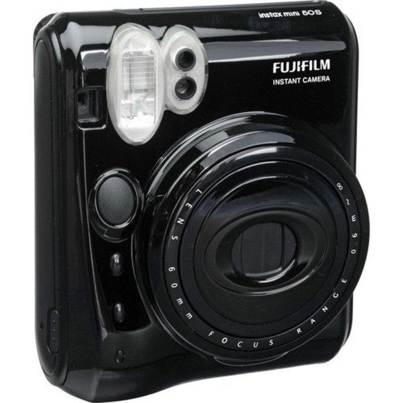 Fujifilm Instax Mini 50s пленочный фотоаппарат Черный