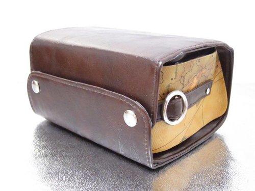 Кожаная сумка для камер Instax Mini и Polaroid Pic 300