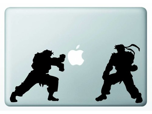 Виниловая наклейка для MacBook Карате
