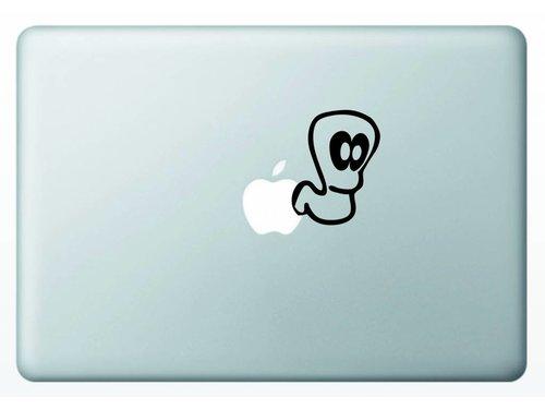 Виниловая наклейка для MacBook Worms