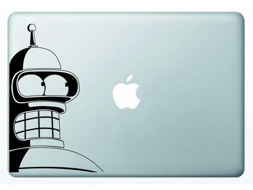 Виниловая наклейка для MacBook Bender Futurama