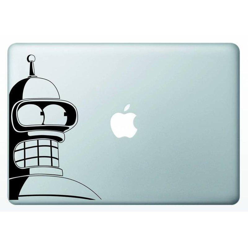 Виниловая наклейка для MacBook Bender