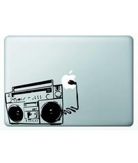 Виниловая наклейка для MacBook Ретро Бумбокс