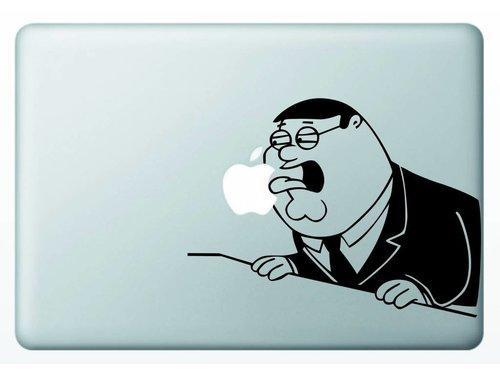 Виниловая наклейка для MacBook Peter Griffin Гриффины