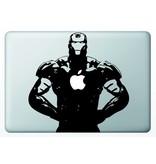 Виниловая наклейка для MacBook Железный Человек Iron Man