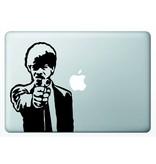 Виниловая наклейка для MacBook Jules Winnfield Криминальное Чтиво