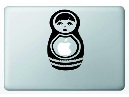 Виниловая наклейка для MacBook Матрешка