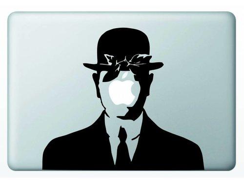Виниловая наклейка для MacBook Сын Человеческий
