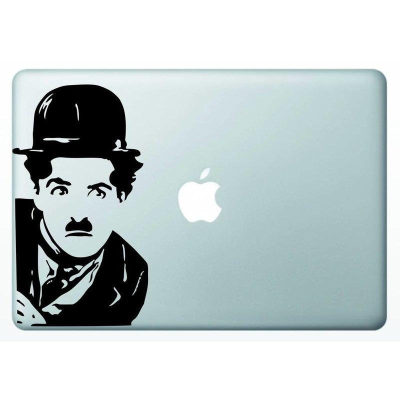Виниловая наклейка для MacBook Чарли Чаплин