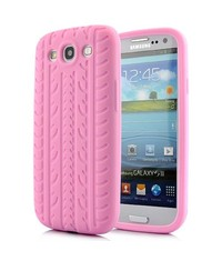 Чехол шина для Samsung Galaxy S3 Розовый