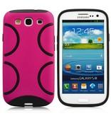 Яркая задняя крышка для Samsung Galaxy S3 Розовый