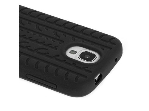 Чехол накладка шина для Samsung Galaxy S4 i9505 Черный