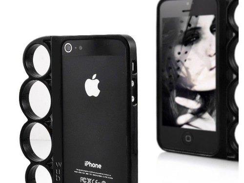 Кастет бампер для iPhone 5/5s Черный