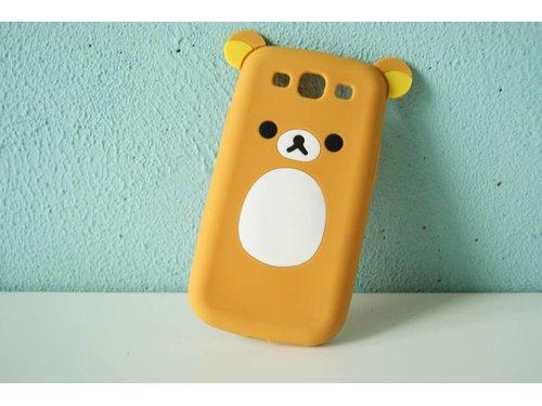 Чехол мишка Rilakkuma для Samsung Galaxy S3 i9300