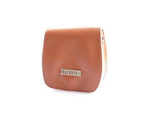 Кожаная сумка чехол для Fujifilm Instax Mini 7 S Карамельный