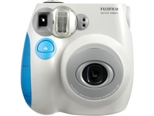 Fujifilm Instax Mini 7s пленочный фотоаппарат Голубой