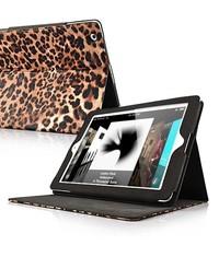 Леопардовой чехол кожаный для iPad 2, 3, 4