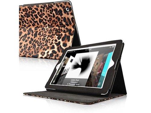 Подставка чехол леопардовой раскраски для iPad 2 3 4
