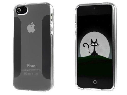 Прозрачный чехол ТПУ TPU для iPhone 5/5S