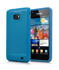 Накладка для Samsung Galaxy S2 i9100 Синяя