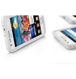 ТПУ бампер чехол для Samsung Galaxy S2 i9100 Белый