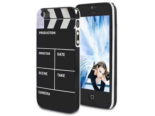 Защитная крышка хлопушка кино для iPhone 5/5s