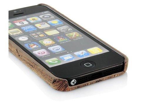 Чехол крышка под дерево для iPhone 5/5s