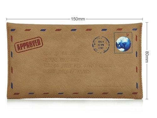 Ретро конверт сумочка для iPhone 5/5s/6 Galaxy S3/S4